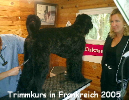 Trimmkurs in Frankreich 2005